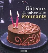 Sylvie Aï-Ali - Gâteaux d'anniversaire étonnants.