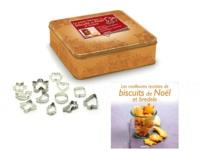 Sylvie Aï-Ali - La petite fabrique à biscuits de Noël et bredele - Avec un livre, 12 emporte-pièces en inox et une boîte à biscuits.
