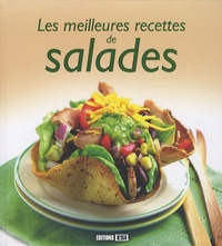 Sylvie Aï-Ali et Emmanuelle Evrard - Les meilleures recettes de salades.