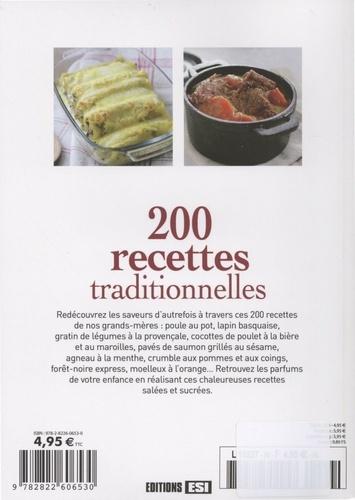 200 recettes traditionnelles