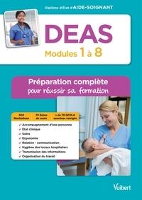 Feriasdhiver.fr DEAS - Modules 1 à 8 - Préparation complète pour réussir sa formation - Diplôme d'Etat d'Aide-soignant Image