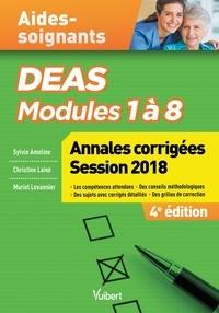 DEAS Modules 1 à 8- Annales corrigées - Sylvie Ameline |