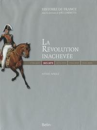 Ebook pdf epub téléchargements La Révolution inachevée (1815-1870) par Sylvie Aprile iBook MOBI en francais