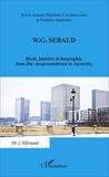Sylvie Arlaud et Mandana Covindassamy - WG Sebald - Récit, histoire et biographie dans Die Ausgewanderten et Austerlitz.