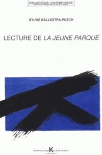 Sylvie Ballestra-Puech et Alain Cresciucci - Lecture de la Jeune Parque.