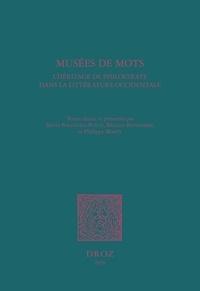 Sylvie Ballestra-Puech et Béatrice Bonhomme - Musées de mots - L'héritage de Philostrate dans la littérature occidentale.