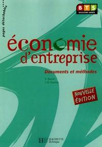 Sylvie Baron et Jean-Bernard Ducrou - Economie d'entreprise BTS deuxième année.