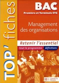 Sylvie Baron et Jean-Bernard Ducrou - Management des organisations 1e et Tle STG.