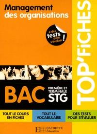 Sylvie Baron et Jean-Bernard Ducrou - Management des organisations Bac STG.