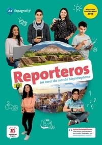 Espagnol 3e A2 Reporteros- Livre de l'élève - Sylvie Baudequin |
