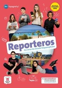 Sylvie Baudequin et Virginie Auberger Stucklé - Espagnol 4e A1-A2 Reporteros - Livre de l'élève.