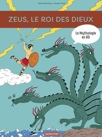 Sylvie Baussier et Ariane Pinel - La mythologie en BD  : Zeus, le roi des dieux.