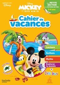 Sylvie Baux - Cahier de vacances de la petite section à la moyenne section - Mickey et ses amis.