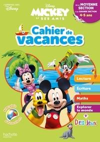 Deedr.fr Cahier de vacances Mickey de la moyenne section à la grande section Image