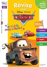 Sylvie Baux - Révise avec Disney Pixar Cars de la Petite à la Moyenne Section.