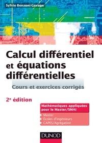 Sylvie Benzoni-gavage - Calcul différentiel et équations différentielles - 2e éd. - Cours et exercices corrigés.