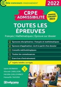 Sylvie Bernard et Vincent Carillion - CRPE Admissibilité - Toutes les épreuves.