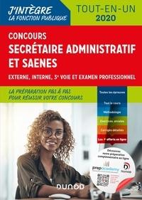 Sylvie Beyssade et Frantz Badufle - Concours Secrétaire administratif et SAENES - Tout-en-un - Concours 2020.