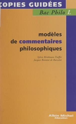 Modèles de commentaires philosophiques