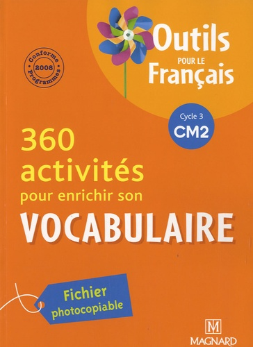 300 Activites Pour Enrichir Son Vocabulaire Cm2 Fichier Photocopiable