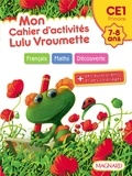 Sylvie Bordron - Mon cahier d'activités Lulu Vroumette - CE1, 7-8 ans.