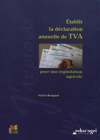 Etablir la déclaration annuelle de TVA pour une exploitation agricole.pdf