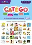 Sylvie Cèbe et Jean-Louis Paour - Catégo PS-MS-GS-ASH - Comprendre les catégories, apprendre à catégoriser.