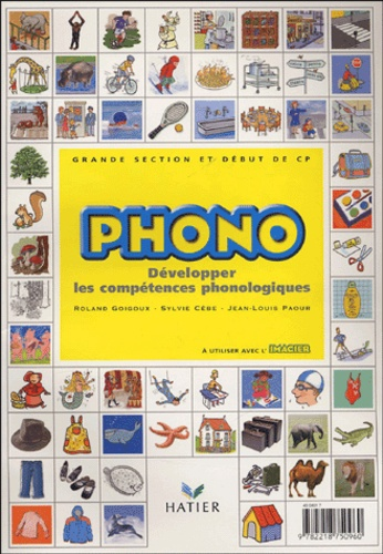 uk availability top design cheap prices Phono Grande section maternelle et début du CP - Développer les compétences  phonologiques