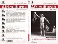 Sylvie Chalaye et  Collectif - Africultures N° 50 Septembre 2002 : Monde noir et scènes contemporaines.