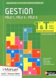 Sylvie Chamillard - Gestion 1e & Tle Bac Pro Gestion-Administration - Pôle 1 Pôle 2 Pôle 3.
