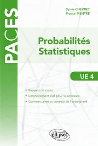 Probabilités statistiques UE4 - Sylvie Chevret pdf epub