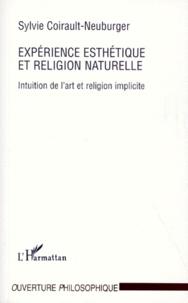 EXPERIENCE ESTHETIQUE ET RELIGION NATURELLE. Intuition de lart et religion implicite.pdf