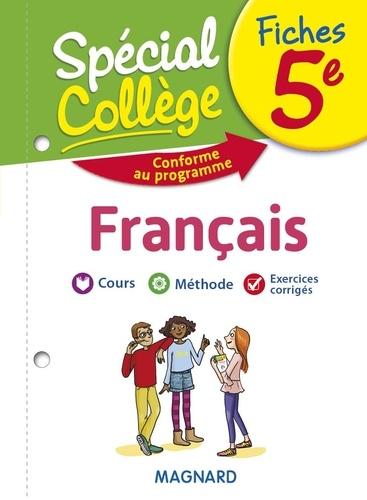 Fiches Francais 5e Special College Poche