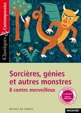 Sylvie Coly - Sorcières, génies et autres monstres - 8 contes merveilleux.