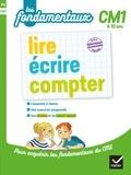 Sylvie Cote et Jean-Claude Landier - lire, écrire, compter CM1.
