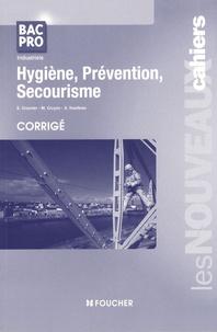 Hygiène, prévention, secourisme Bac pro industriels- Corrigé - Sylvie Crosnier |