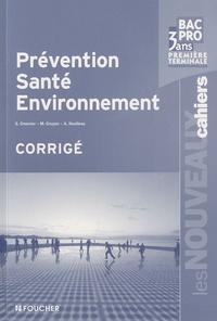 Checkpointfrance.fr Prévention, Santé, Environnement 1e et Tle Bac pro 3 ans - Corrigé Image