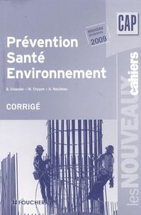 Histoiresdenlire.be Prévention, santé, environnement CAP - Corrigé Image