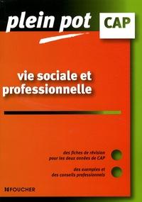 Vie sociale et professionnelle CAP - Sylvie Crosnier |