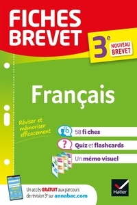 Sylvie Dauvin - Fiches brevet Français 3e Brevet 2022 - fiches de révision & quiz.