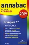Sylvie Dauvin - Français 1e L, ES, S - Sujets et corrigés.