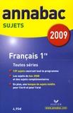 Sylvie Dauvin et Jacques Dauvin - Français 1e toutes séries - Sujets.