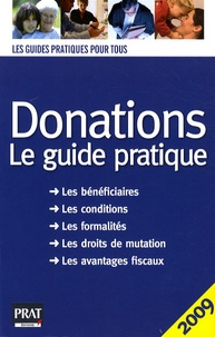 FB2 eBooks téléchargement gratuit Donations  - Le guide pratique 2009 en francais