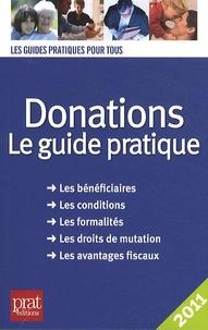Sylvie Dibos-Lacroux - Donations - Le guide pratique 2011.