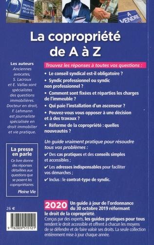 La copropriété de A à Z  Edition 2020