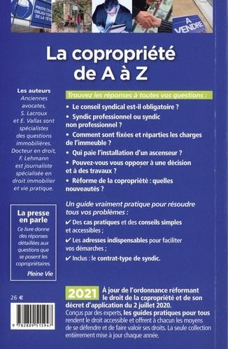La copropriété de A à Z  Edition 2021