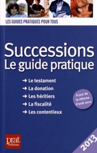 Galabria.be Successions 2013 - Le guide pratique Image