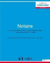 Sylvie Ferre-André et Jean-Yves Camoz - Notaire.