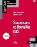 Sylvie Ferre-André et Stéphane Berre - Successions et libéralités 2020 - 6e éd..