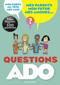 Sylvie Friedman et Nathalie Szapiro-Manoukian - Questions ado - Filles-Garçons en 100 questions.